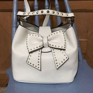 Betsey Johnson Bow Bucket Bag